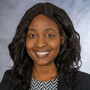 A headshot of Wellstar Atlanta Medical Center Family Medicine Program Coordinator Tavia Bryan-Samuels