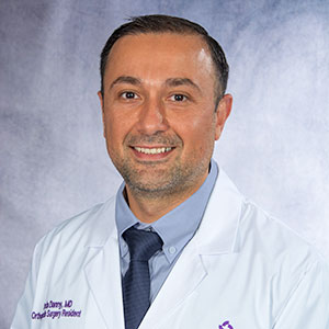 A headshot of Dr. Danny Warda