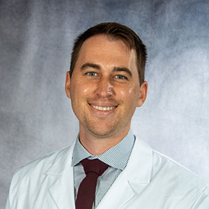 A friendly headshot of Dr. Blake Bendixen