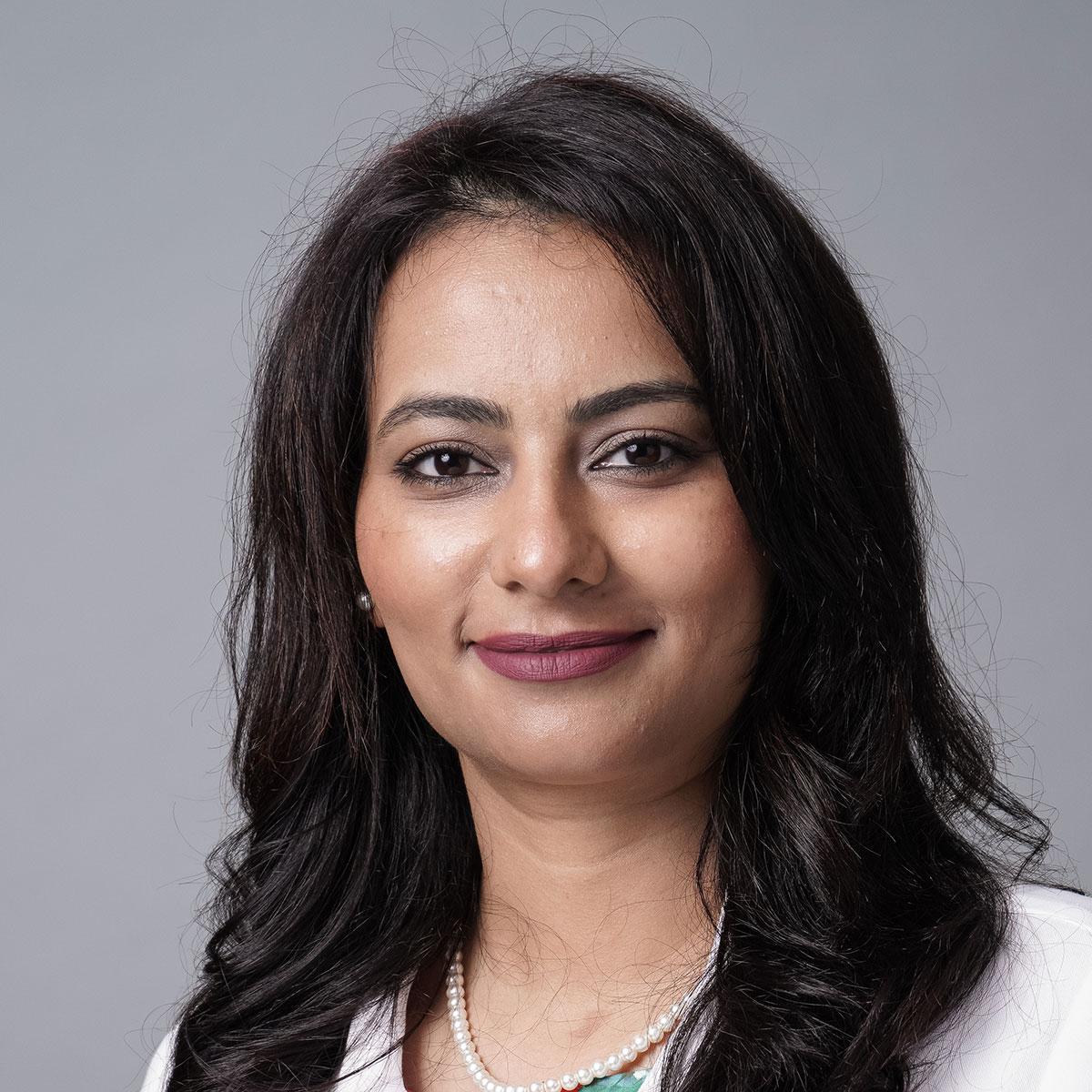 A friendly headshot of Dr. Rabia Khan