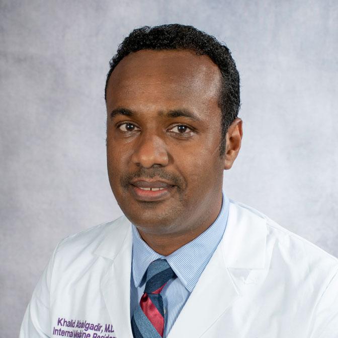 A friendly headshot of Dr. Khalid Abdelgadir