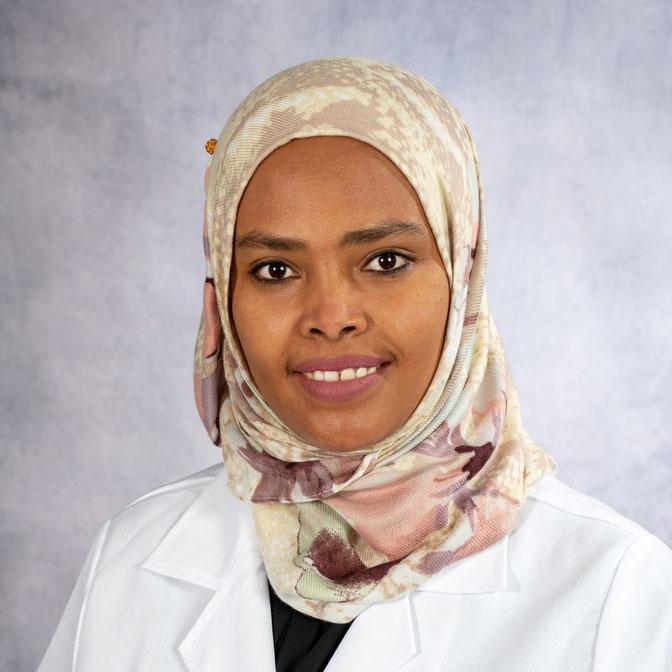 A friendly headshot of Dr. Jemila Hussien