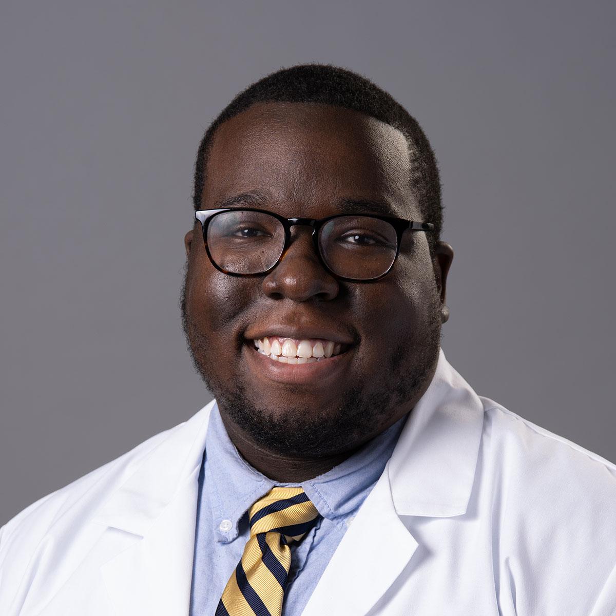 A friendly headshot of Dr. Emeka Nwoke