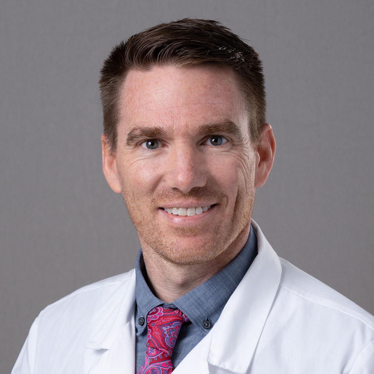 A friendly headshot of Dr. Jamin Grahm