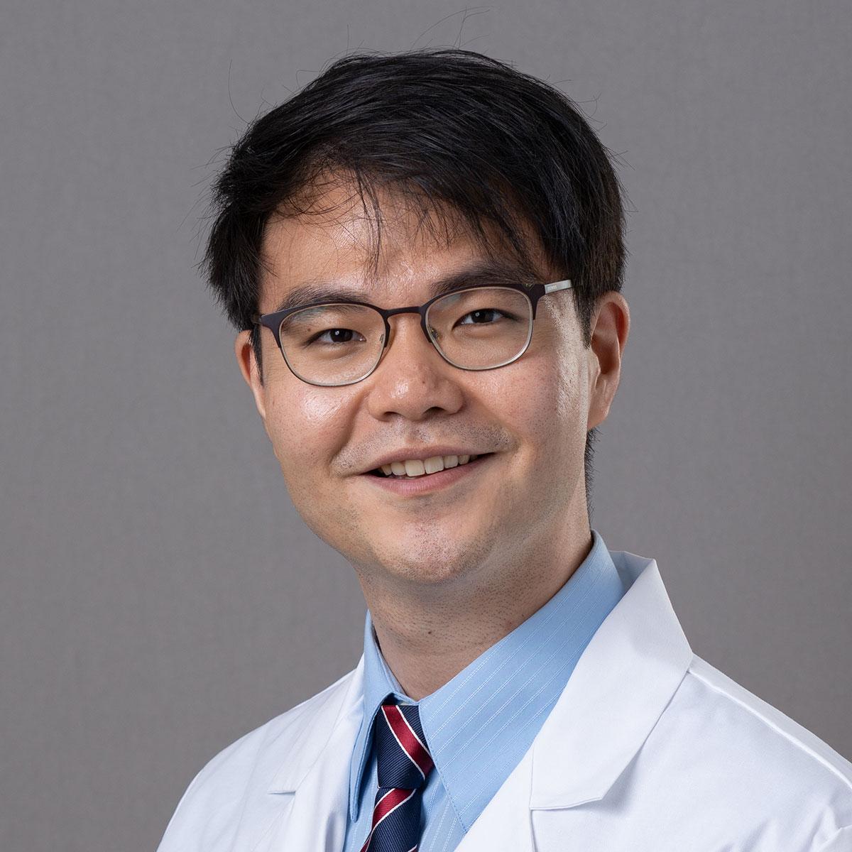 A friendly headshot of Dr. Edward Lee