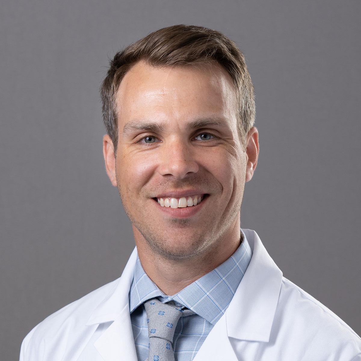 A friendly headshot of Dr. Michael Evans