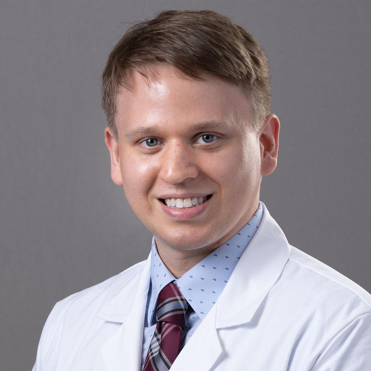 A friendly headshot of Dr. Myles McCrary