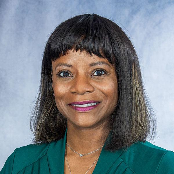 A friendly headshot of Pamela Moye