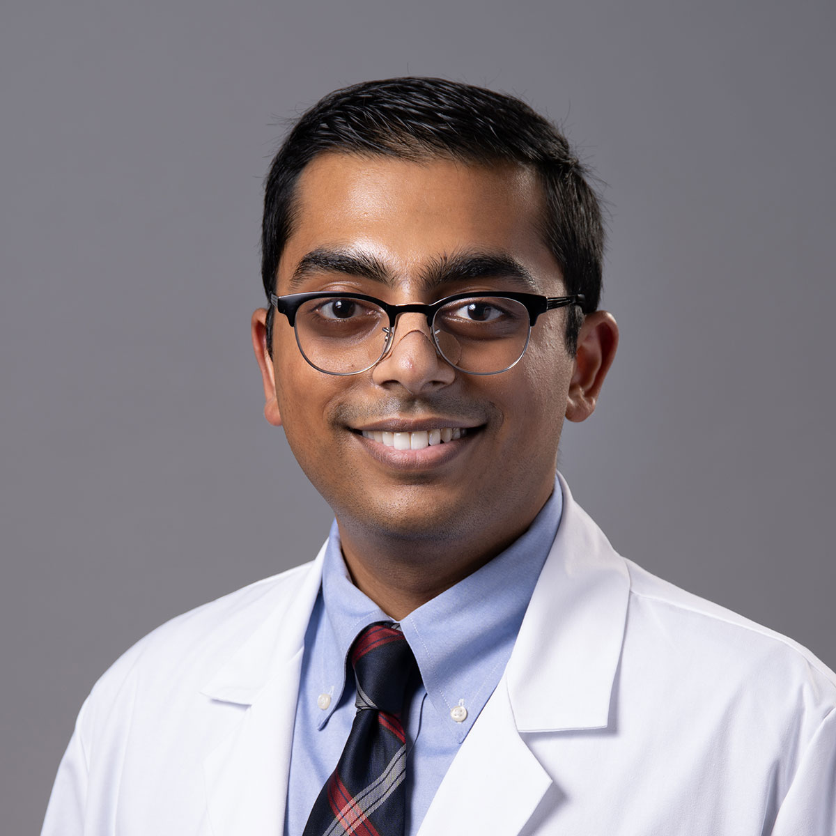 A friendly headshot of Dr. Parth Shah