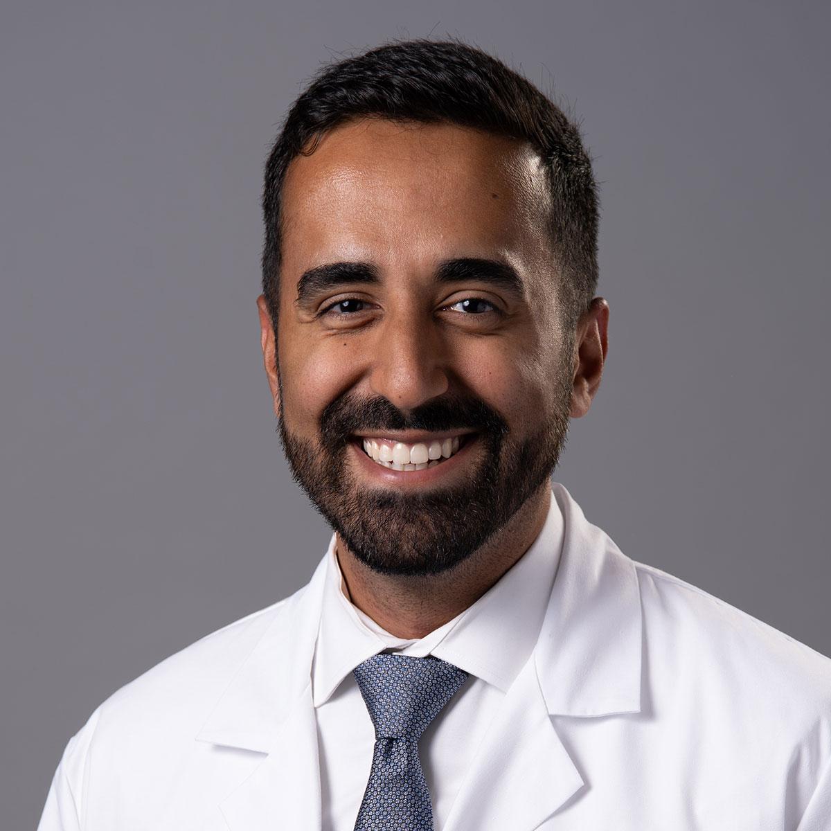 A friendly headshot of Dr. Sagar Patel